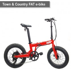 Bicicleta Town & Country FAT