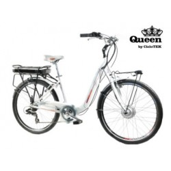 Bicicleta CicloTEK Queen Platinim LCD 5-CK11