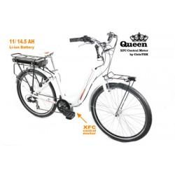 Bicicleta CicloTEK Queen Central PRO + CK11