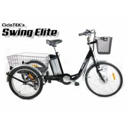 Triciclo Eléctrico CicloTEK Swing ELITE PLUS Negro