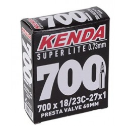 CAMARA KENDA 700*18/23C. 60mm, 120g